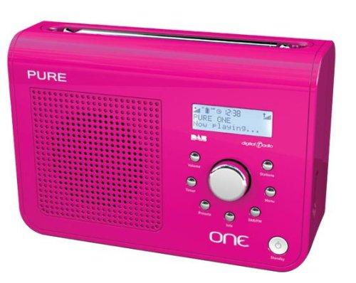 Pure One DAB/FM Portable Radio - Pink