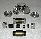"4 Piece 1.625"" (42mm) NEW Style Herb - Pollen Grinder / CNC Pollen Press Combo"