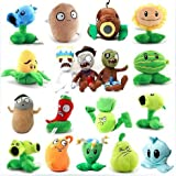 Luk Oil New Plants Vs Zombies 2 Toys Combination of 17-25cm 18pc/lot New Birthdays Gift Perfect Collection for All Plants Vs Zombies Game Fans