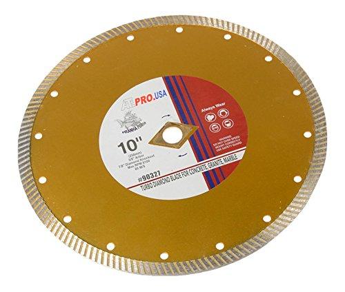 ATE Pro. USA 90327 Diamond Blade, , Turbo, Pro-Series, 10