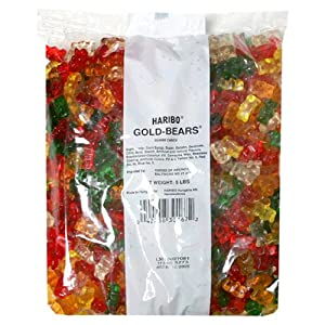 Haribo Gummy Candy Gold-bears
