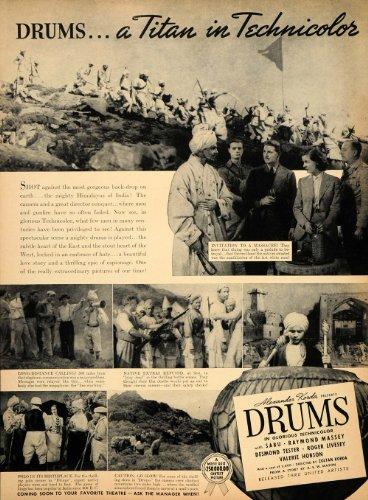 1938-ad-drums-technicolor-alexander-korda-sabu-tester-original-print-ad