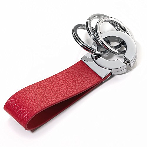 troika-click-red-leather-keyholder-kr802rd