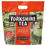 Taylors of Harrogate Yorkshire Tea 480 Tea Bags 1.5kg - Pack of 5