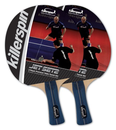 Learn More About Killerspin Jet Set 2-pack Table Tennis Racket Set