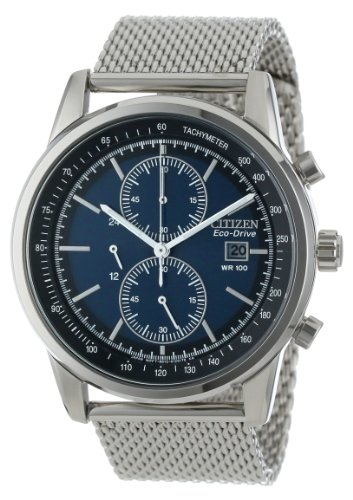 Citizen Men'S Ca0331-56L Eco-Drive Chronograph Dress Watch