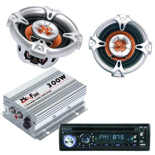 Auto Set Radio Endstufe Lautsprecher CAR-323