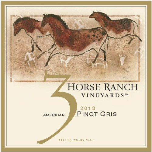 2013 3 Horse Ranch Reserve Pinot Gris 750 Ml