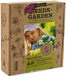 ORGANIC SEEDS GARDEN - GIFT PACK - 10 MIX Packets with Labels by VREMI TM