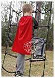 Abracadabrazoo Set of 10 RED Superhero Capes & Masks Sets Party Favor Super Hero