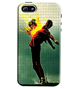 Atem Printed Back Cover For iphone 5s
