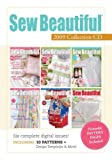 Sew Beautiful 2009 Collection CD