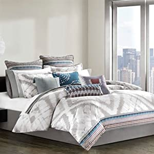 Echo Tribal Blocks Comforter Set - Multi - King