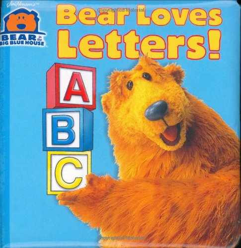 Bear Loves Letters! (Bear in the Big Blue House(Hardcover)), Kantor, Susan