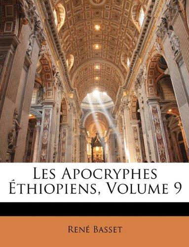 Les Apocryphes Éthiopiens, Volume 9