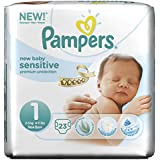 Pampers Size 1 New Baby Sensitive Pants - Pack of 92