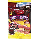 Disney Cars Party Dig N Dips Candy, 8 Per Bag by Frankford Candy LLC