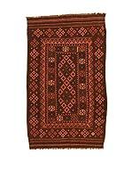 Kilim Carpets by Jalal Alfombra Kilim Kaudani (Rojo/Marrón)