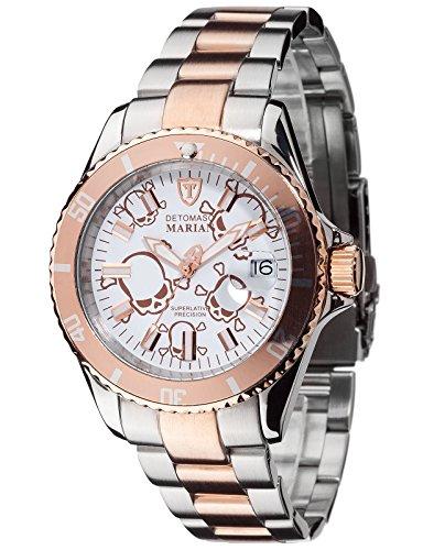 DETOMASO DT3006-O - Reloj de pulsera unisex, acero inoxidable, color multicolor