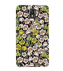 Flowes in Pond Floral 3D Hard Polycarbonate Designer Back Case Cover for Samsung Galaxy Note 3 N9000 :: Samsung Galaxy Note 3 N9002 :: Samsung Galaxy Note 3 N9005 LTE