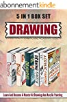 Drawing: 5 IN 1 BOX SET Learn And Bec...