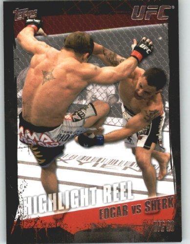2010 Topps UFC Trading Card # 186 Frankie Edgar vs Sean Sherk (Ultimate Fighting Championship) MMA Trading Card