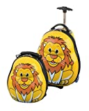 Skyflite Skykidz Lion Childrens Trolley Suitcase and Backpack Set