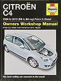 Citroen C4 Service Repair Manual: 2004-2010 (Haynes Service and Repair Manuals)