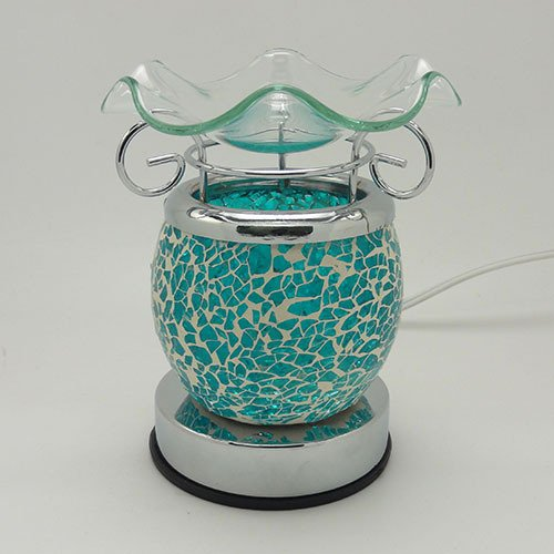 Lamps Of Aroma - Touch Aroma Lamp - Sky Blue Crackle
