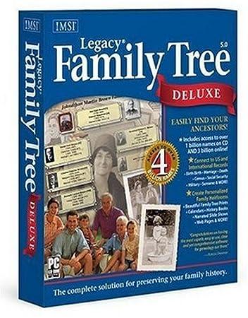 Legacy Family Tree Dlx V5