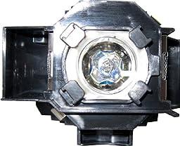 Diamond Lamp for EPSON EMP-S4 Projector with a Osram bulb inside housing