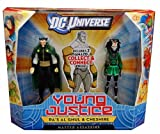 DC Universe Young Justice Ras Al Ghul And Cheshire Figure 2-Pack