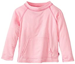 i play. Baby Breatheasy Sun Protection Shirt, Light Pink, 18-24 Months