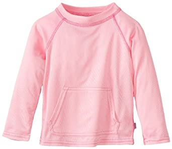 i play. Unisex-baby Infant Breatheasy Sun Protection Shirt, Light Pink, 3T/4T/3-4 Year