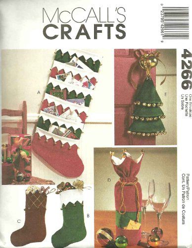McCall's 4266 Jingle Bell Christmas Sewing Pattern