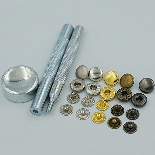 Hollow Rivet Setting Tool : Bluemoona metal snap fastener leather rapid rivet button