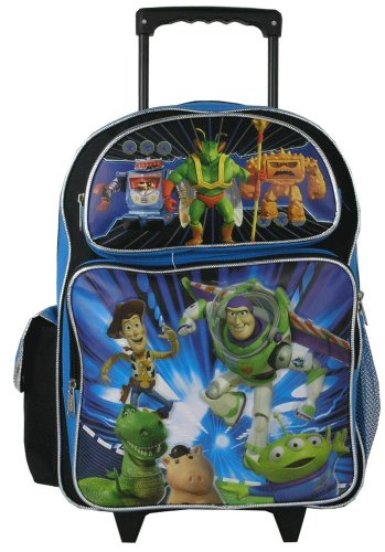 Toy Story Large Rolling Backpack - 1
