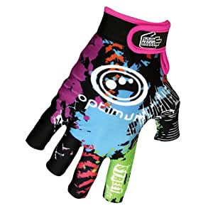Optimum Men's Stik Mit Street Rugby Gloves - Multicoloured, Small