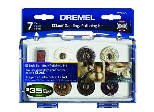 Buy Bargain Dremel EZ684-01 EZ Lock Sanding And Polishing Kit