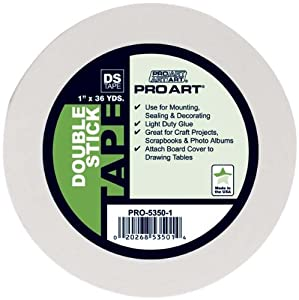 Pro Art 3/4-Inch by 36-Yards Double Stick Tape