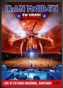Iron Maiden - En Vivo! : Live at Estadio Nacional, Santiago [Édition Limitée boîtier SteelBook]