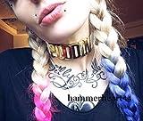 Harley Quinn Puddin Choker + Yes Sir Bracelet + Spiked Wristbands + Gift
