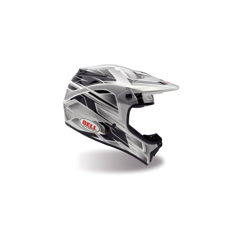 Bell MX 1 Frantic Black/Silver Full Face Motocross Helmet