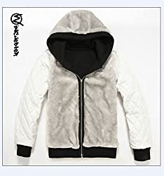 diamond dogs Sweater Hoodies Thickening Plus velvet jacket black by ulsb