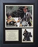 """Legends Never Die """"Indiana Jones The Last Crusade"""" Framed Photo Collage, 11 x 14-Inch"""