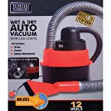 ThinkTank Wet Dry Auto Vacuum Cleaner Raft Inflator Attachments LED 12V Car Vac