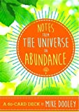 img - for Notes from the Universe on Abundance: A 60-Card Deck book / textbook / text book