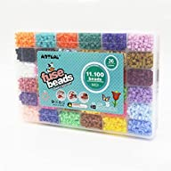 11,100pcs artkal fuse beads in a storage box 36 colors S-5mm iron beads educational toys