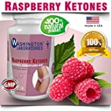 Raspberry Ketones, 500 mg, 100% Pure and Natural Ingredients, #1 Weight Loss Supplements for Women and Men. 60 ct Vegetarian Capsules, Appetite Suppressant Pills, Made in USA using No Additives and No Fillers. Complete 30-Day Supply of Natural Dietary Supplement for Weight Loss