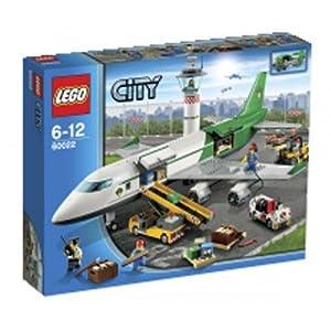 LEGO Lego City - Le terminal de l'aéroport - 60022 + City - La course poursuite de la police spéciale - 60007